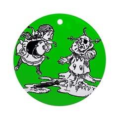 Wicked Witch is Dead Ornament (Round)