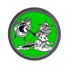 Wicked Witch is Dead Wall Clock
