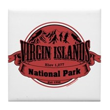 virgin islands 1 Tile Coaster