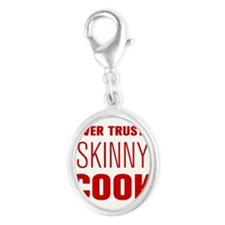 never-trust-a-skinny-cook-AKZ-BROWN Charms