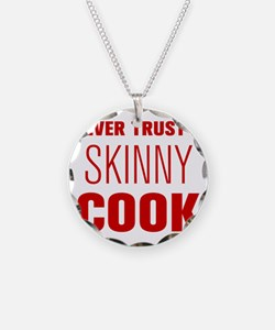 never-trust-a-skinny-cook-AKZ-BROWN Necklace