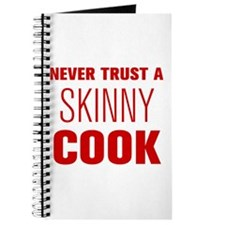 never-trust-a-skinny-cook-AKZ-BROWN Journal