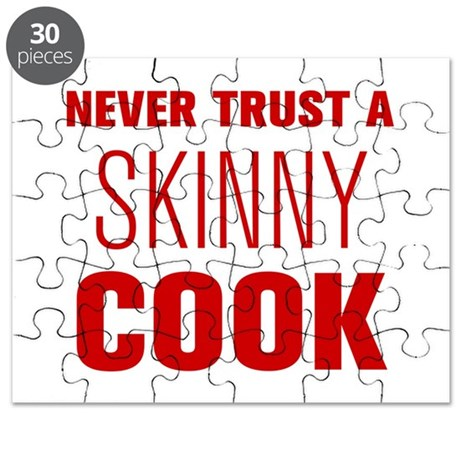 never-trust-a-skinny-cook-AKZ-BROWN Puzzle