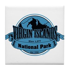 virgin islands 3 Tile Coaster