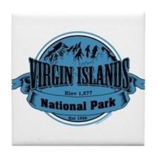virgin islands 2 Tile Coaster