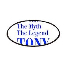 man-myth-legend-tony-bod-blue Patches