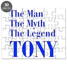 man-myth-legend-tony-bod-blue Puzzle