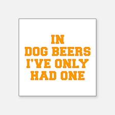 in-dog-beers-FRESH-ORANGE Sticker
