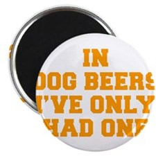 "in-dog-beers-FRESH-ORANGE 2.25"" Magnet (10 pack)"