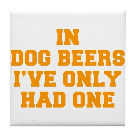 in-dog-beers-FRESH-ORANGE Tile Coaster