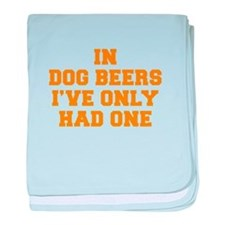 in-dog-beers-FRESH-ORANGE baby blanket