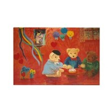 Rembrandt's 2nd Birthday Rectangle Magnet
