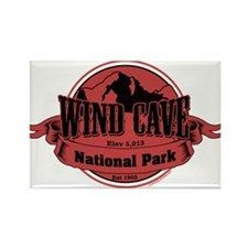 wind cave 3 Rectangle Magnet (10 pack)