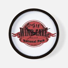 wind cave 2 Wall Clock