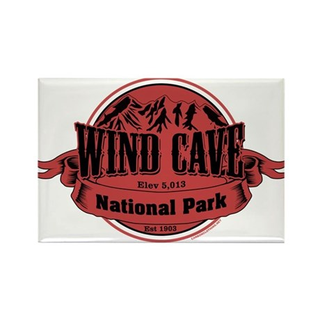 wind cave 1 Rectangle Magnet