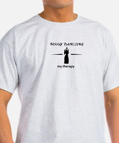 Belly Dancing my therapy designs T-Shirt