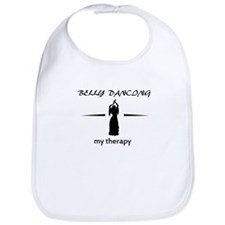 Belly Dancing my therapy designs Bib