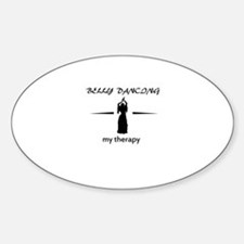 Belly Dancing my therapy designs Decal