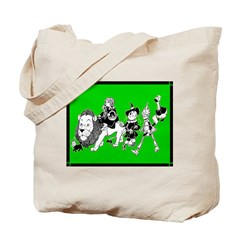 Character Illustrations Tote Bag