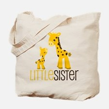Little Sister Giraffe Tote Bag