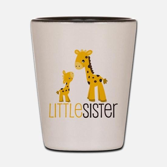Little Sister Giraffe Shot Glass