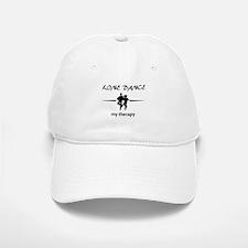 Line dance my therapy designs Baseball Baseball Cap