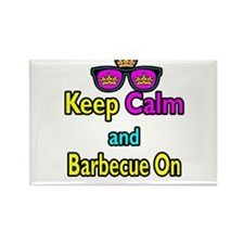 Crown Sunglasses Keep Calm And Barbecue On Rectang