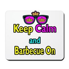 Crown Sunglasses Keep Calm And Barbecue On Mousepa