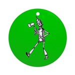Tin Man 1 Ornament (Round)
