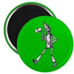 Tin Man 1 Magnet