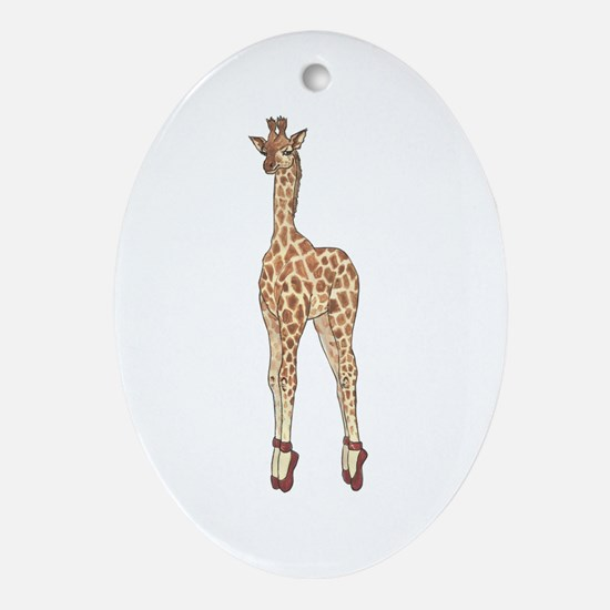 Stay On Your Toes! Ornament (Oval)