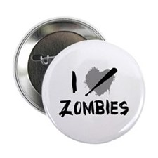 "I Love Killing Zombies 2.25"" Button"