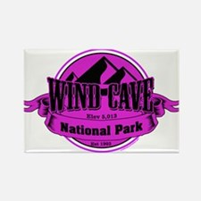 wind cave 5 Rectangle Magnet