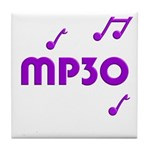 MP30, 30th, MP3 Tile Coaster