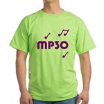 MP30, 30th, MP3 Green T-Shirt