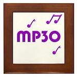 MP30, 30th, MP3 Framed Tile