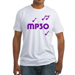 MP30, 30th, MP3 Fitted T-Shirt