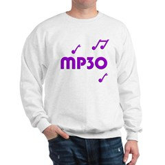 MP30, 30th, MP3 Sweatshirt