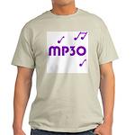 MP30, 30th, MP3 Ash Grey T-Shirt