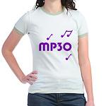 MP30, 30th, MP3 Jr. Ringer T-Shirt