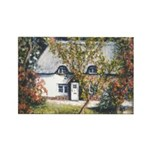 New Forest Cottage Rectangle Magnet