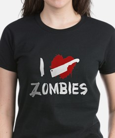 I Love Killing Zombies Tee