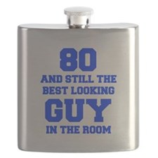 80-and-still-best-looking-guy-FRESH-BLUE Flask