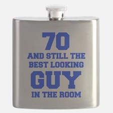 70-and-still-best-looking-guy-FRESH-BLUE Flask