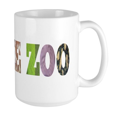i love the zoo Large Mug