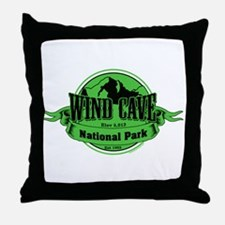 wind cave 3 Throw Pillow