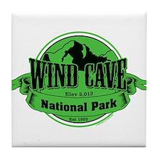 wind cave 3 Tile Coaster