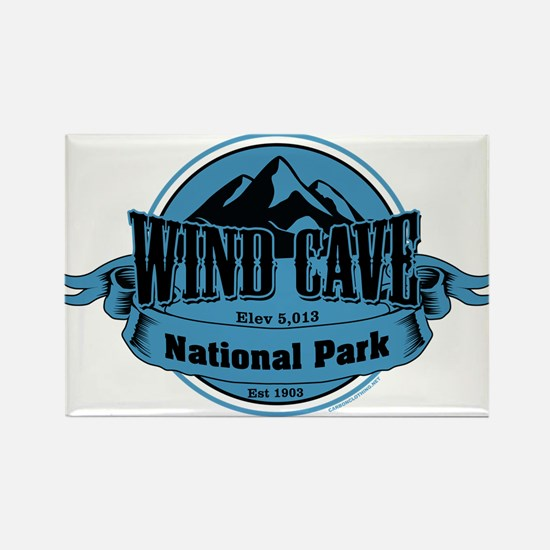wind cave 4 Rectangle Magnet