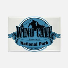 wind cave 3 Rectangle Magnet