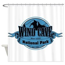 wind cave 3 Shower Curtain